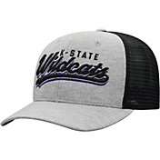 Top of the World Men's Kansas State Wildcats Grey/Black Cutter Adjustable Hat