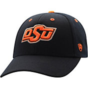 Top of the World Men's Oklahoma State Cowboys Triple Threat Adjustable Black Hat