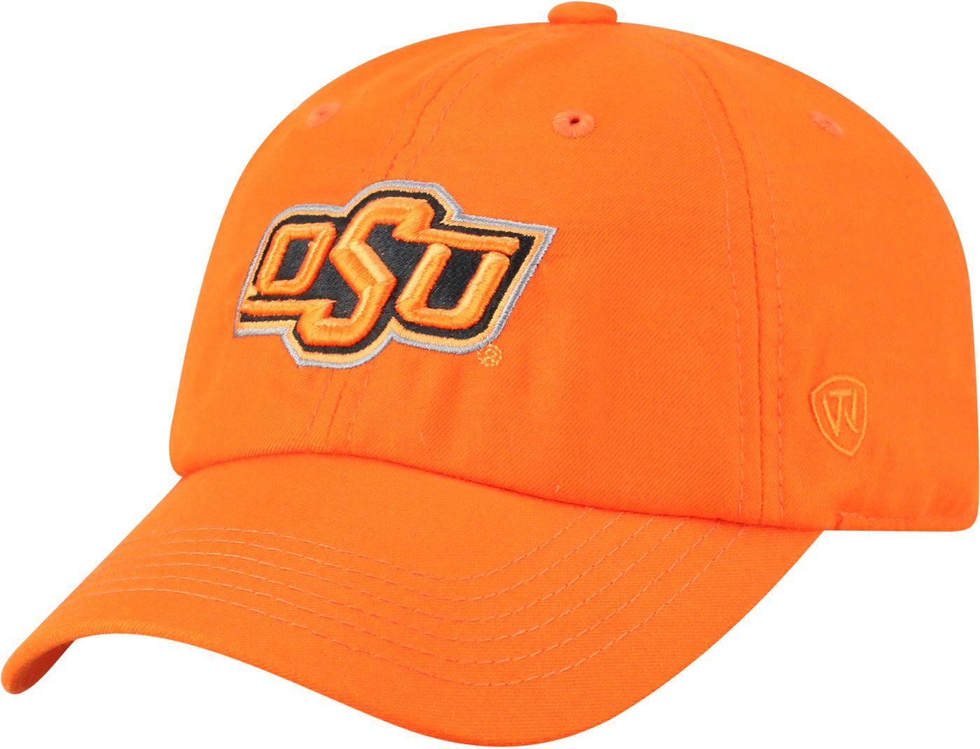 Top of the World Men's Oklahoma State Cowboys Orange Staple Adjustable Hat