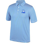 Top of the World Men's Kentucky Wildcats Blue/White Bunker Polo