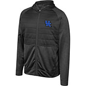 Top of the World Men's Kentucky Wildcats Infusion Full-Zip Hooded Black Jacket