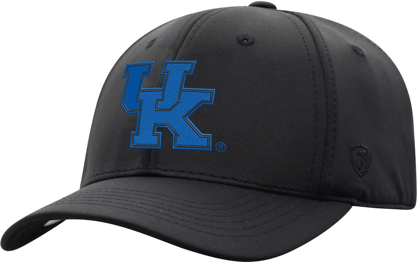 Top of the World Men's Kentucky Wildcats Phenom-Bob 1Fit Flex Black Hat