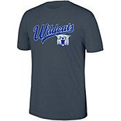 Scarlet & Gray Men's Ohio State Buckeyes Gray Heritage Tri-Blend Script T-Shirt