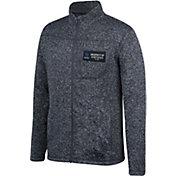Top of the World Men's Kentucky Wildcats Grey Pioneer Full-Zip Sweater