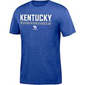 Top of the World Men's Kentucky Wildcats Blue Chrome Slogan T-Shirt