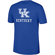 Top of the World Men's Kentucky Wildcats Blue Heritage Tri-Blend Word T-Shirt