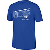 Top of the World Men's Kentucky Wildcats Blue Heritage Tri-Blend Block T-Shirt