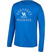 Top of the World Men's Kentucky Wildcats Blue Heritage Tri-Blend Long Sleeve T-Shirt