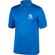 Top of the World Men's Kentucky Wildcats Blue Carbon Polo