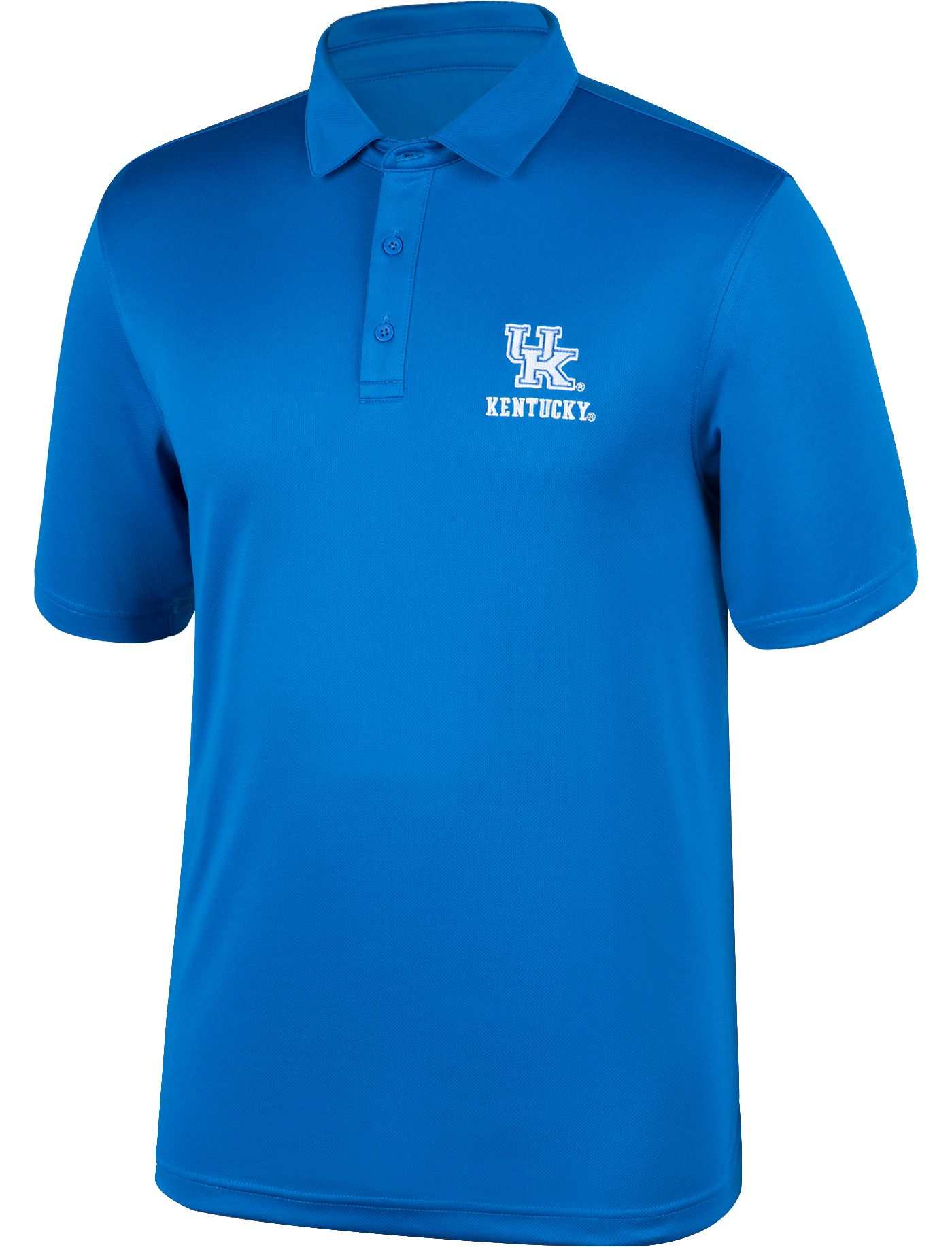 Top of the World Men's Kentucky Wildcats Blue Carbon Polo