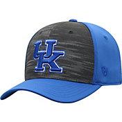 Top of the World Men's Kentucky Wildcats Grey/Blue Pepper 1Fit Flex Hat