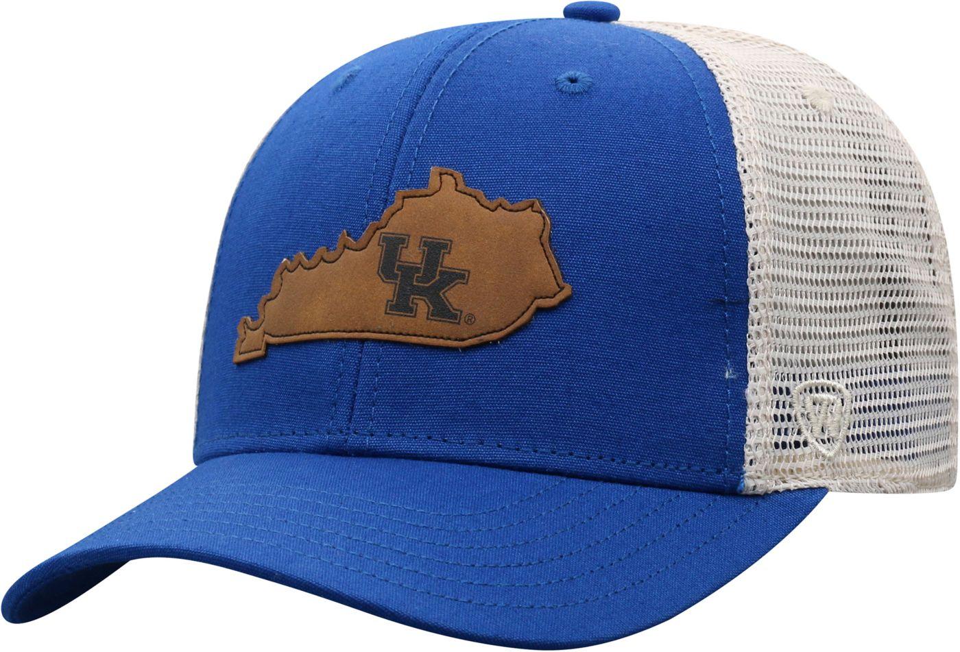 Top of the World Men's Kentucky Wildcats Blue/Grey Precise Trucker Adjustable Hat