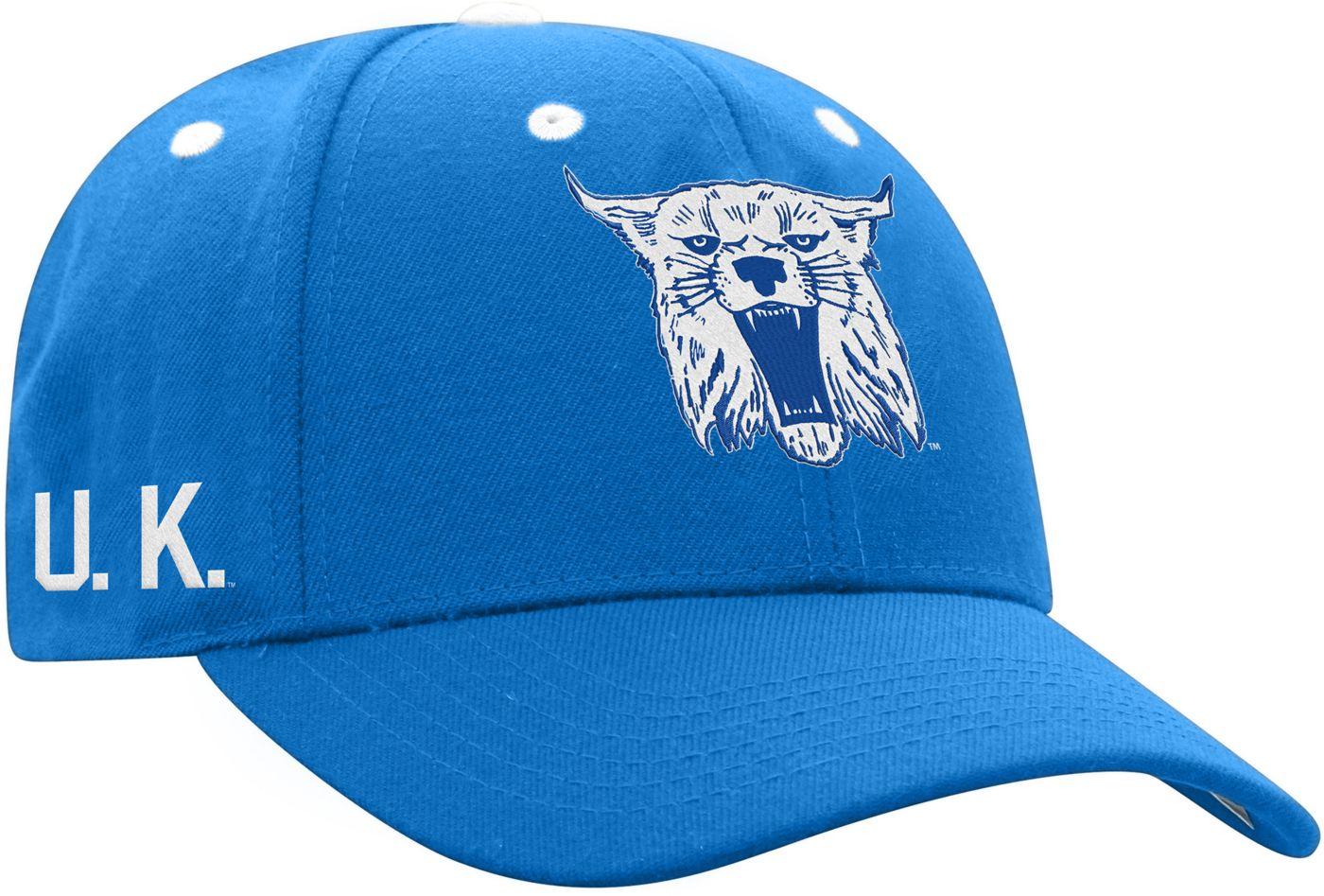 Top of the World Men's Kentucky Wildcats Blue Retro Triple Threat Adjustable Hat