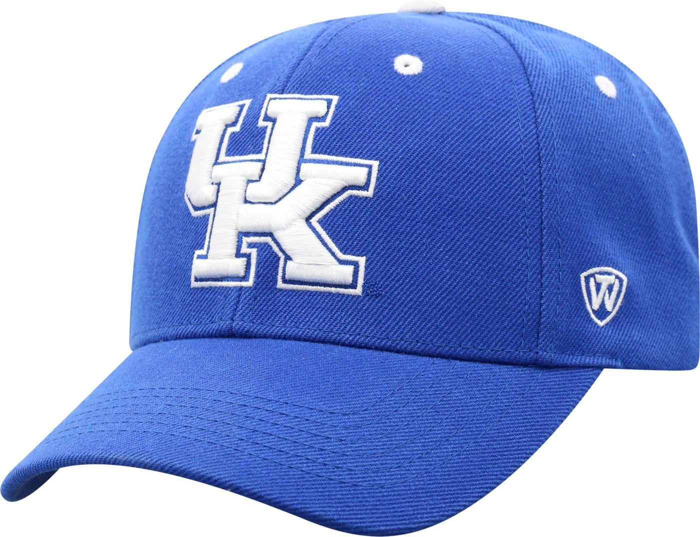 Top of the World Men's Kentucky Wildcats Blue Triple Threat Adjustable Hat