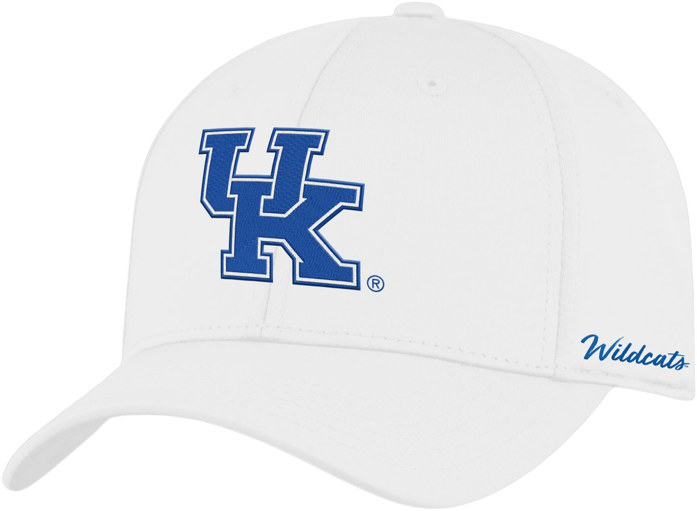 Top of the World Men's Kentucky Wildcats Phenom 1Fit Flex White Hat