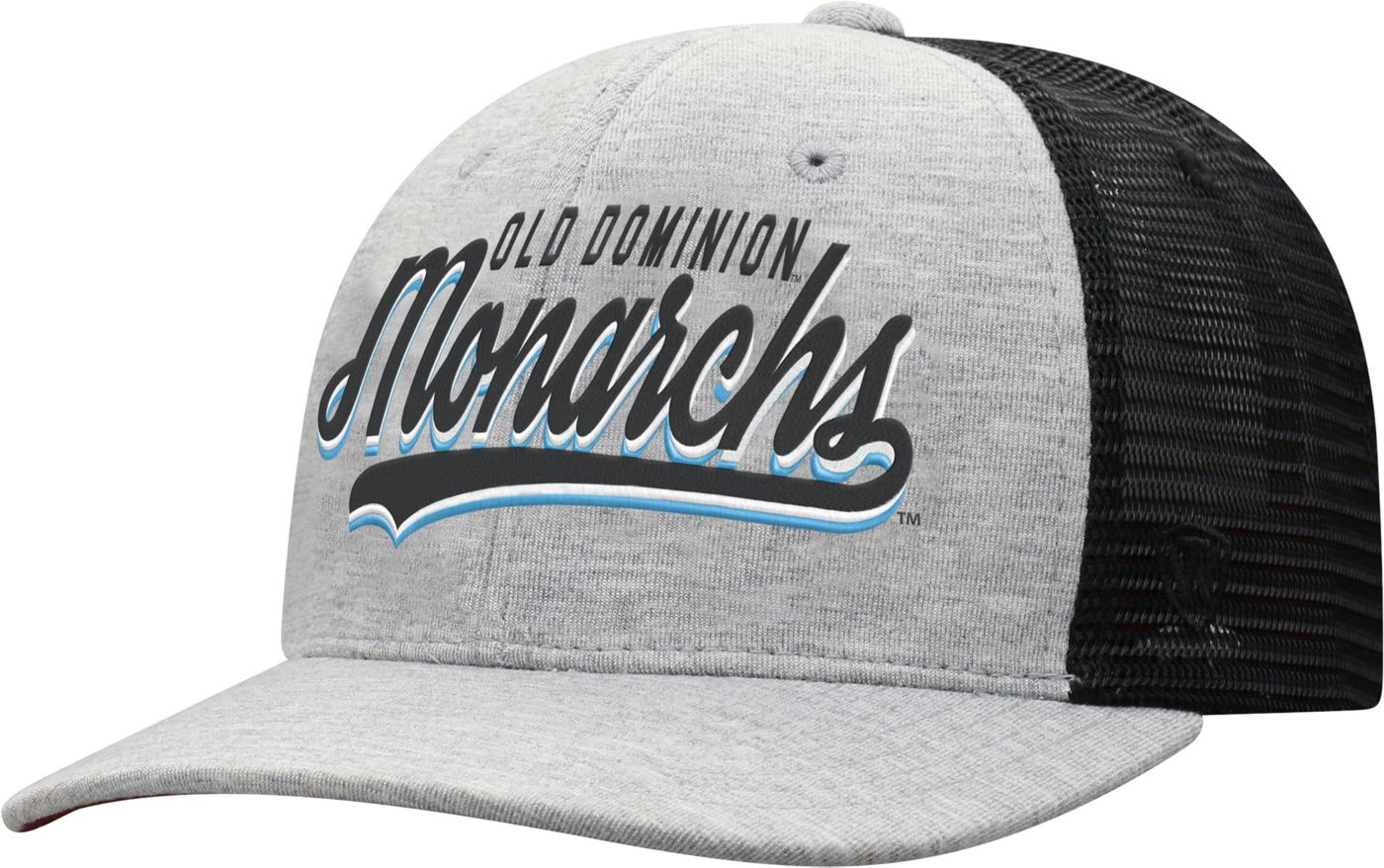 Top of the World Men's Old Dominion Monarchs Grey/Black Cutter Adjustable Hat