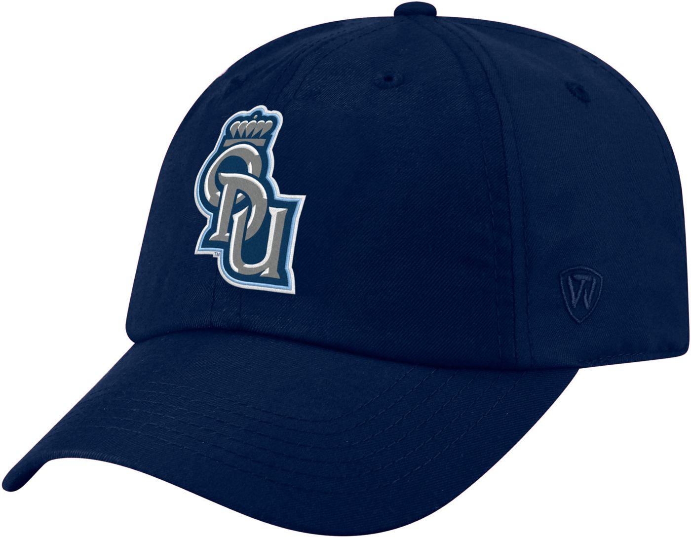 Top of the World Men's Old Dominion Monarchs Blue Staple Adjustable Hat