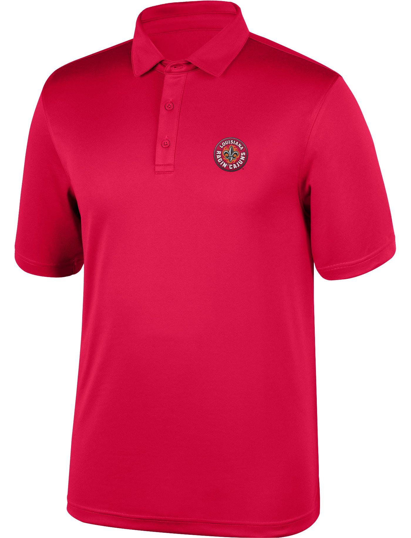 Top of the World Men's Louisiana-Lafayette Ragin' Cajuns Red Polo