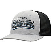 Top of the World Men's Illinois Fighting Illini Grey/Black Cutter Adjustable Hat