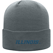 Top of the World Men's Illinois Fighting Illini Grey Cuff Knit Beanie