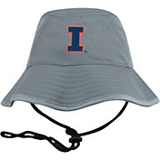 Top of the World Men's Illinois Fighting Illini Grey Bucket Hat