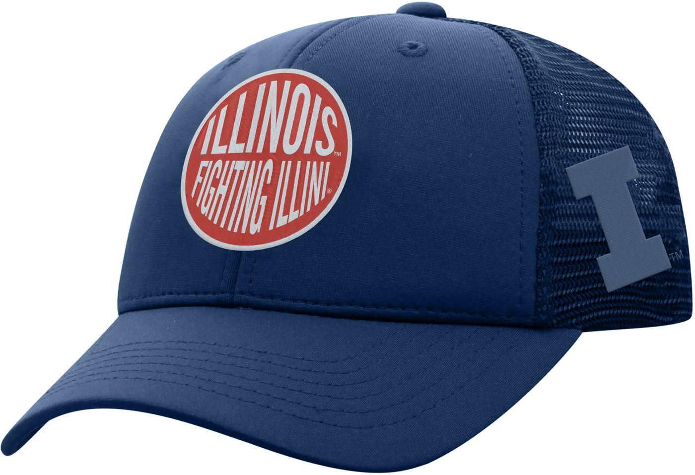 Top of the World Youth Illinois Fighting Illini Blue Ace Adjustable Hat