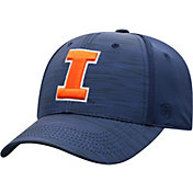 Top of the World Men's Illinois Fighting Illini Blue Intrude 1Fit Flex Hat