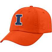 Top of the World Men's Illinois Fighting Illini Orange Staple Adjustable Hat