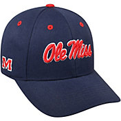 Top of the World Men's Ole Miss Rebels Blue Triple Threat Adjustable Hat