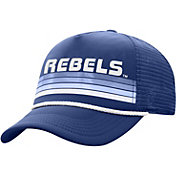 Top of the World Men's Ole Miss Rebels Blue Wipeout Adjustable Snapback Hat