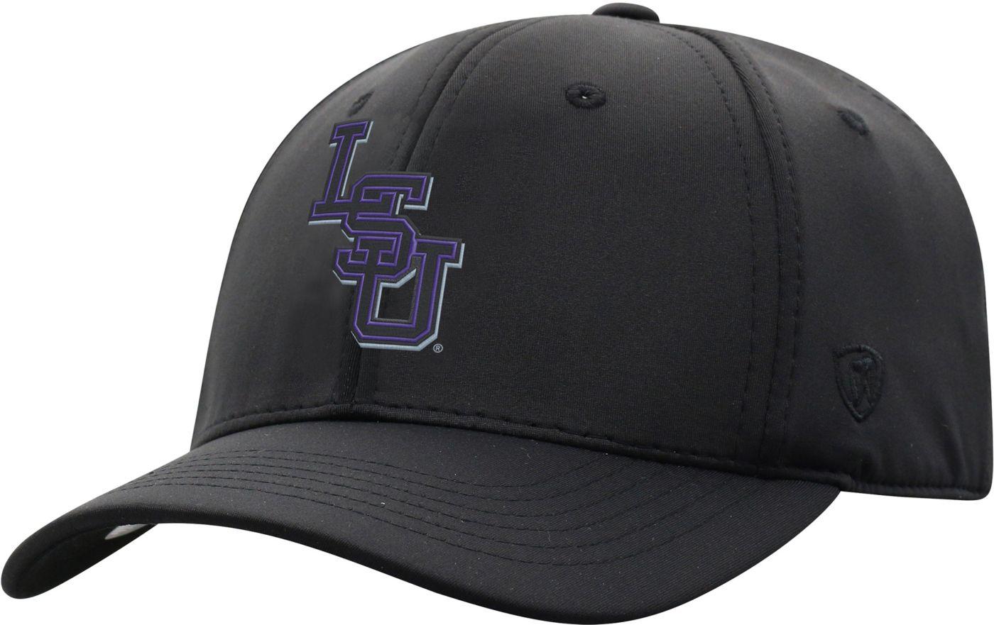Top of the World Men's LSU Tigers Phenom-Bob 1Fit Flex Black Hat