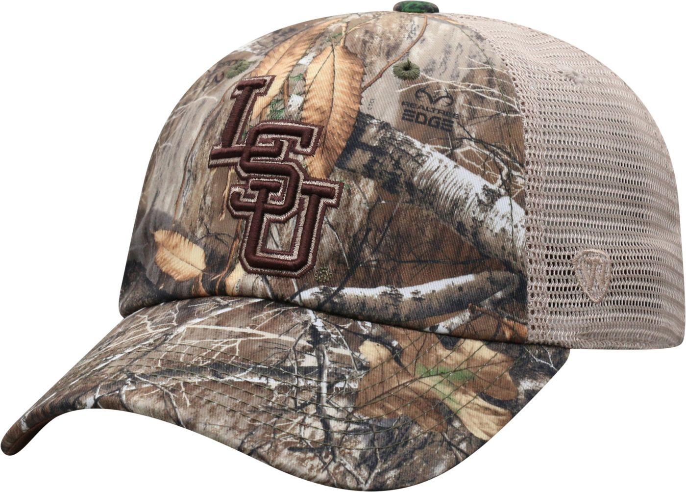 Top of the World Men's LSU Tigers Camo Acorn Adjustable Hat