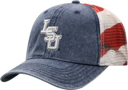 outlet store 1b283 77015 Top of the World Men  39 s LSU Tigers Flag Adjustable Hat
