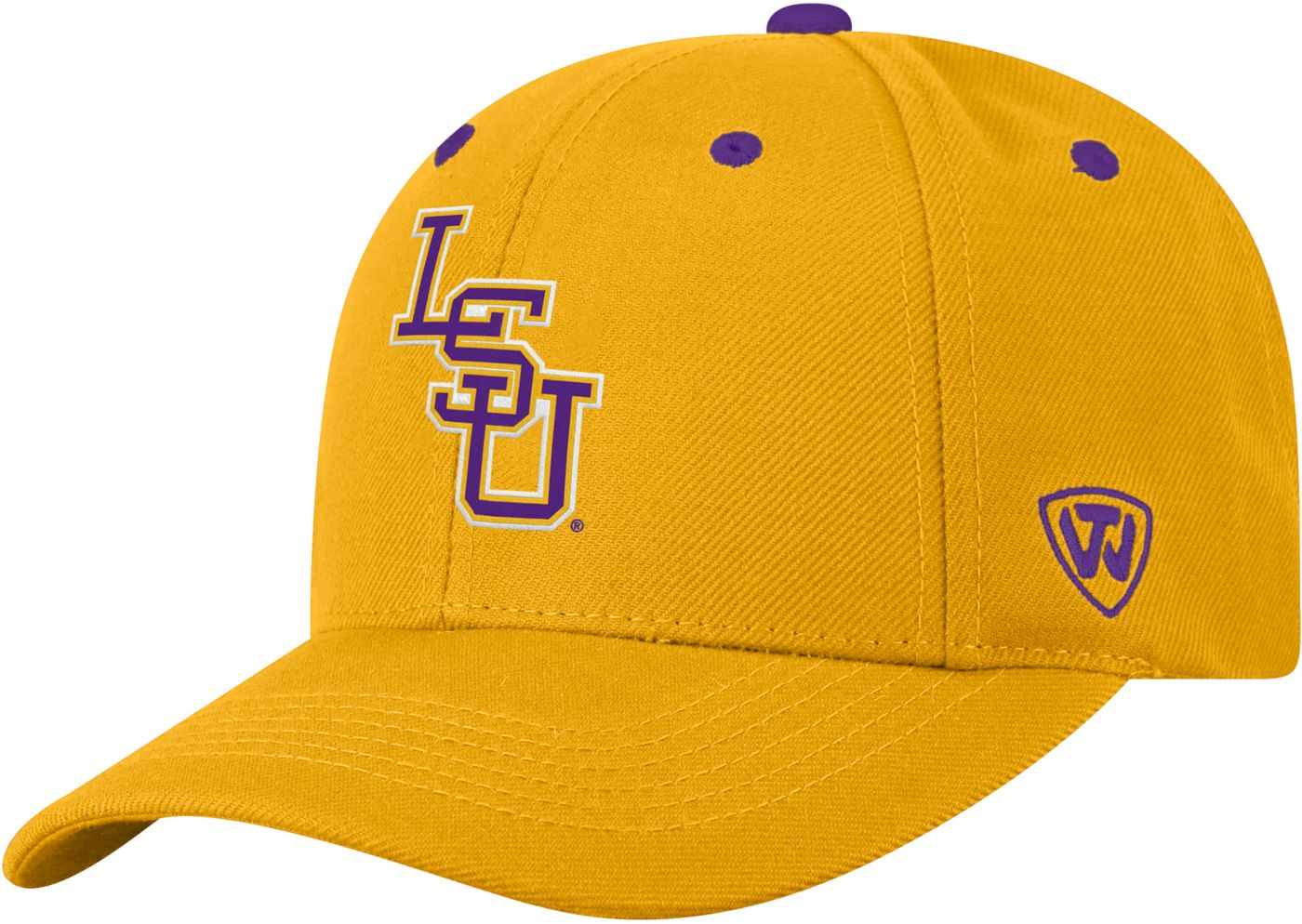 Top of the World Men's LSU Tigers Gold Triple Threat Adjustable Hat