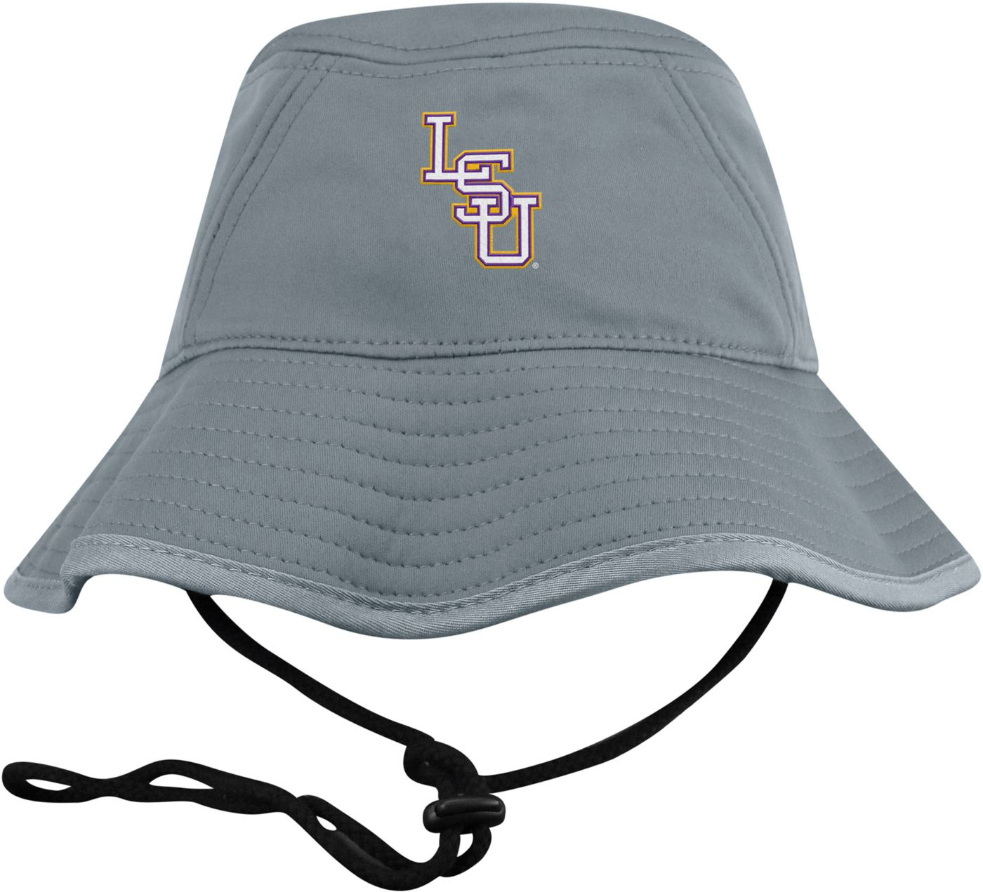 Top of the World Men's LSU Tigers Grey Bucket Hat