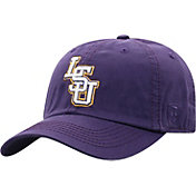 Top of the World Men's LSU Tigers Purple Washed Crew Adjustable Hat