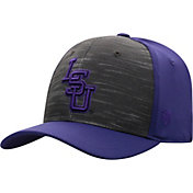 Top of the World Men's LSU Tigers Grey/Purple Pepper 1Fit Flex Hat
