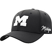 Top of the World Men's Michigan Wolverines Phenom 1Fit Flex Black Hat