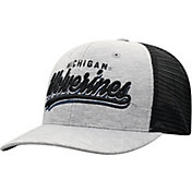 Top of the World Men's Michigan Wolverines Grey/Black Cutter Adjustable Hat