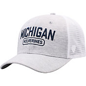 Top of the World Men's Michigan Wolverines Grey Notch Adjustable Snapback Hat