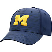 Top of the World Men's Michigan Wolverines Blue Intrude 1Fit Flex Hat