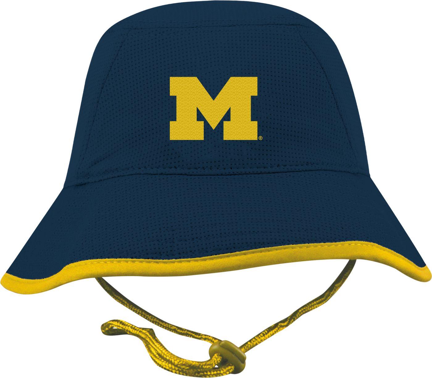 Top of the World Men's Michigan Wolverines Blue Pro Bucket Hat
