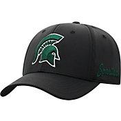 Top of the World Men's Michigan State Spartans Phenom 1Fit Flex Black Hat