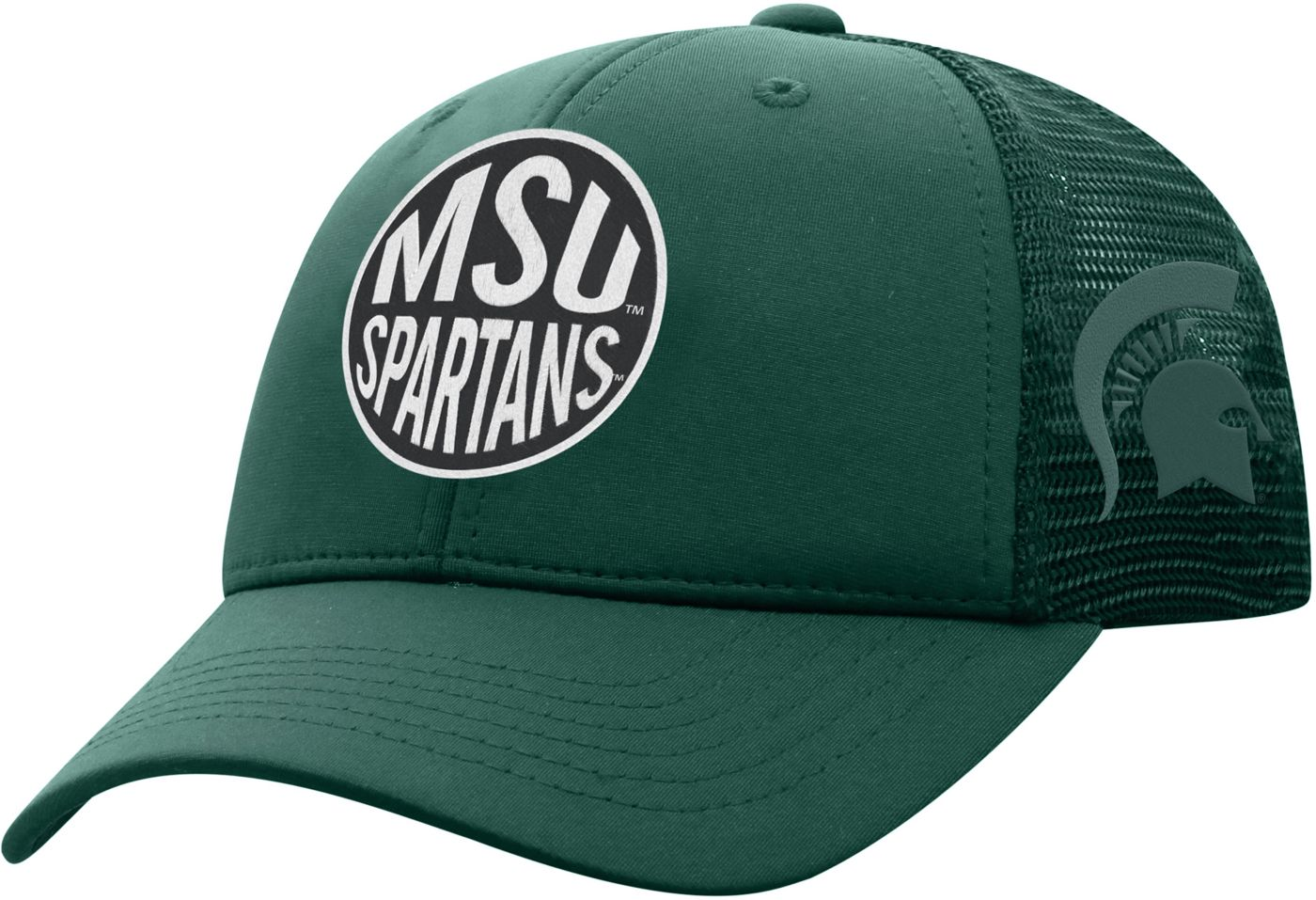 Top of the World Youth Michigan State Spartans Green Ace Adjustable Hat