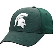 Top of the World Men's Michigan State Spartans Green Intrude 1Fit Flex Hat