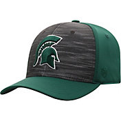 Top of the World Men's Michigan State Spartans Grey/Green Pepper 1Fit Flex Hat