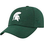 Top of the World Men's Michigan State Spartans Green Staple Adjustable Hat