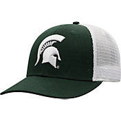 9cbe5ddfc82fe0 Product Image · Top of the World Men's Michigan State Spartans Green/White Trucker  Adjustable Hat