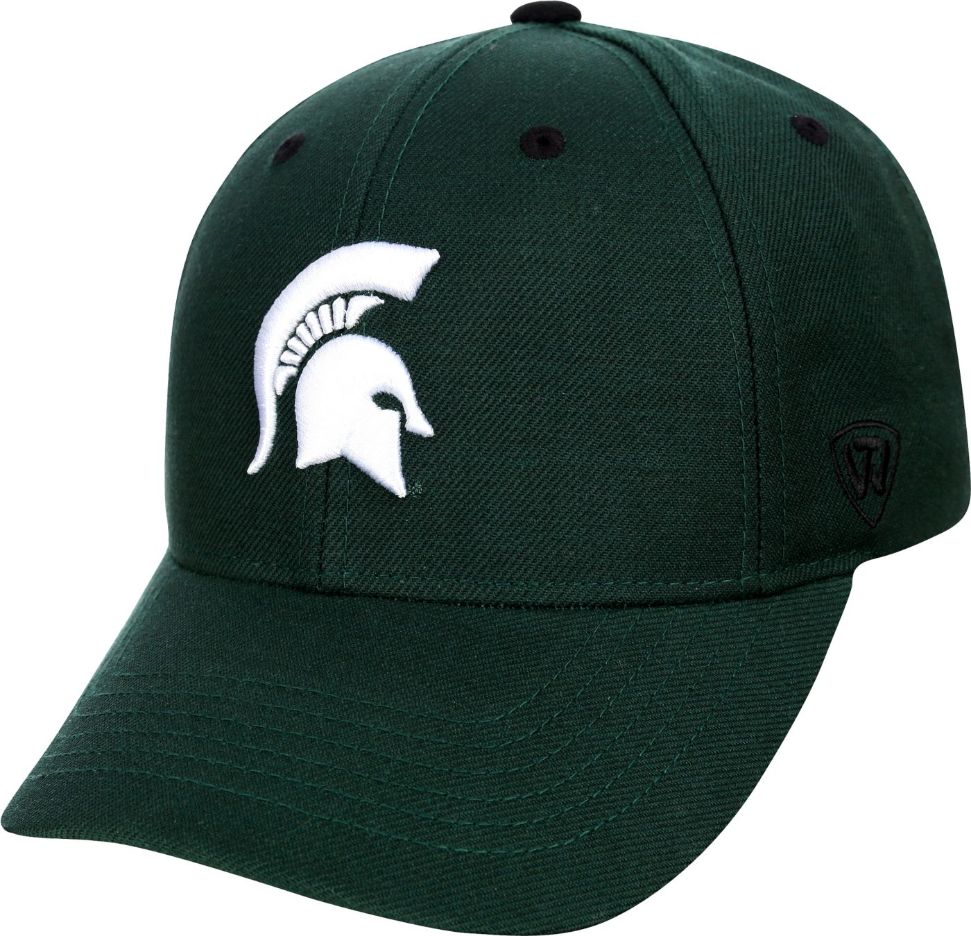 Top of the World Men's Michigan State Spartans Green Triple Threat Adjustable Hat