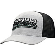 Top of the World Men's Michigan State Spartans Grey/Black Cutter Adjustable Hat